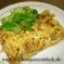 Zwiebelkuchen mit Feldsalat