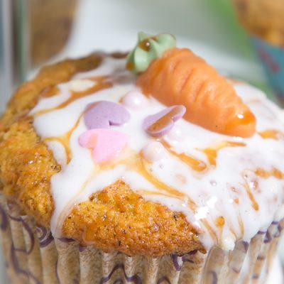 Backen? Ganz einfach! Karotten Cupcakes Rezept