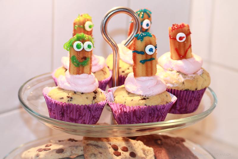 Minion Cupcakes – ganz einfach