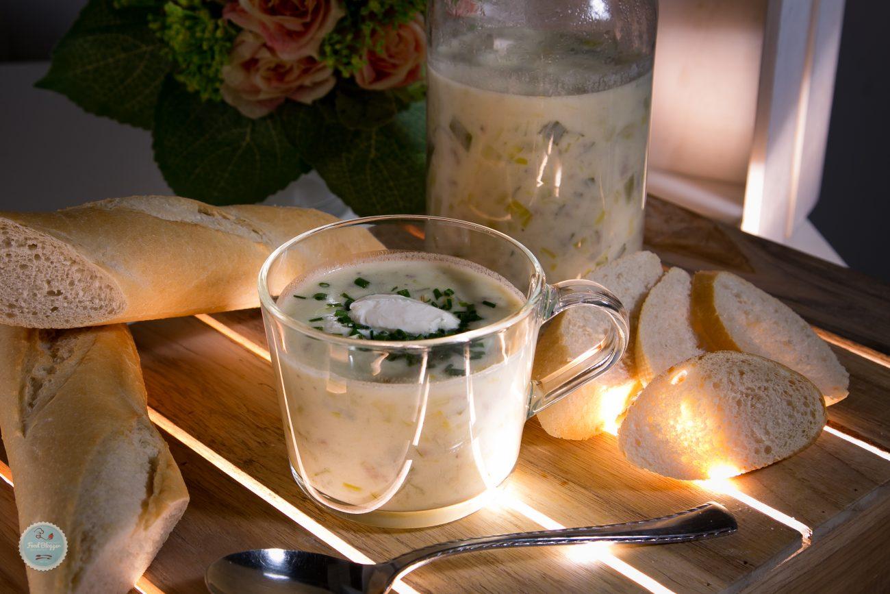 Käse-Lauch-Suppe mit Hackfleisch – Foodblog – Kochen? Ganz einfach!