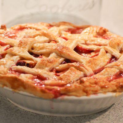 Kochen? Ganz einfach! Pfirsich Pie