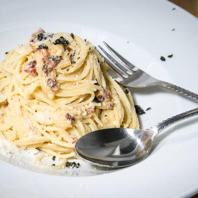 Kochen? Ganz einfach! Spaghetti Carbonara