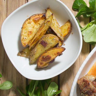 Kochen- Ganz einfach! Wedges-Kartoffelspalten