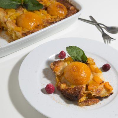 Kochen- Ganz einfach! Zwieback Pfirsich Auflauf
