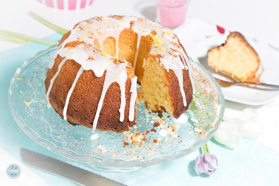 Zitronen Kokos Kuchen Rezept Foodblog Kochen Ganz Einfach