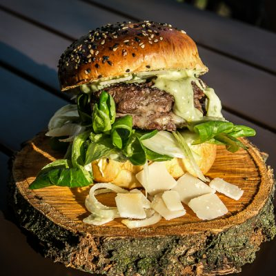 Kochen? Ganz einfach! Bärlauch Burger vom Grill